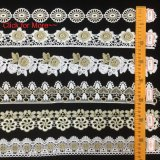 Gold Emboridery Lace Trim