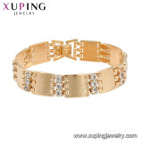 74990 Fashion Accessories Gold-Plated Costume Jewelry Women Bracelet with Stone