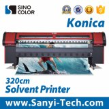 3.2m Outdoor Printing Solvent Printer with Km-512ilnb-30pl  Heads