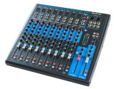 48V Phantom Power Professional Audio Mixing Sound Console (MQ10FX-USB)
