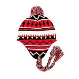 Girls Knitted Earflap Hat (JRK025)