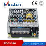 35W SMPS Single Output AC 220V to DC 5V 12V 24V 36V 48V DC LED Switching Power Supply with Ce, RoHS (LRS-35)