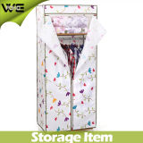 Assemble Fabric Storage Cabinet Folding Useful Bedroom Wardrobe