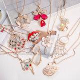 Cat's Eye Sweater Chain Fashion Rhinestones Women's Accessories Necklace