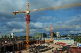 Qtz80 (TCT6013-8) Self-Erecting Construction Building Overhead Tower Crane