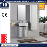 European Gloss White Painted Wall Mounted Bathroom Vanity Unit