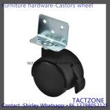 L Shape with Brake Locking Swivel Nylon Caster Wheel Trolley Wheel