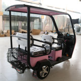 China Wholesale High Quality Electric Scooter 3 Wheel Hot-Selling Electric Car New Car Lower Price 3 Seats Mini Solor New Energy Vehicle Cabin