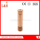 M6*25 Cucrzr Welding Accessories Contact Tip for Welding Torch