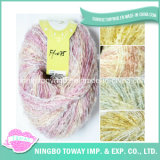 Colorful Hand Knitting Dyed Wool Acrylic Fancy Yarn