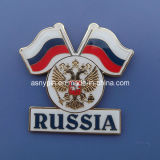 Souvenir Russia Flags Pins Badges with Magnet