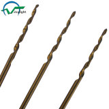 Tin-Coated Straight Shank Tappered Flute HSS Twist Drill Bits (JL-TDB)