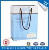 High Quality Matt Laminated Paper Gift Bag with Cotton Handle