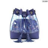 2019 Wholesale Market New Fashion Hot Selling Ladies Handbag Bucket Transparent PVC Leather Jelly Woman Bags (60050)