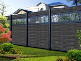 Aluminum Fencing Powder Coating Garden Gate Villa Yard Pool Fence