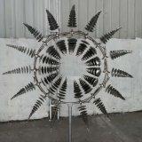 Mesmerizing Outdoor Metal Kinetic Yard Sculpture Art for Park Decoration