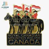 China Good Price Enamel Canada Cavalryman Custom Butterfly Pin Lapel