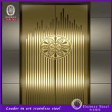 Elevator Door Designed Stainless Steel Panel Lift Pattern for Turkey Market