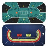 Playing Cards Designer Poker Gaming Mat Poker Table Top