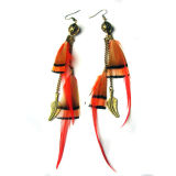 2017 Hot Sale New Style Feather Drop Earring