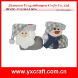 Christmas Decoration (ZY13L380-1-2 14CM) Christmas Decoration Items