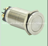 New Type (19mm) Hyperplane Momentary Latching Push Button Switch