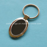 Oval Alloy Key Ring with Shinny Finish for Promotion (ELE-K116)