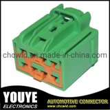 Automotive Connector Female 8p Plug and Play Yy9082821-1 for Ford Door Green Connector