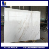 Greece Produce Ariston White Marble Granite Stone Slab Tiles for Countertop Strip Floor Tile Outdoor Wall Cladding