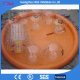 Round Orange Inflatable Water Walking Ball Pool