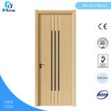 New PVC Coated Wooden Door Reliable Quality MDF PVC Door Soundproof Glass Door