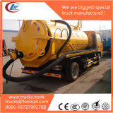 Useful Dirty 4X2 Rhd 8cubic Meter Sewage Suction Truck