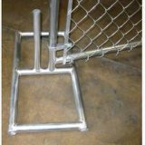Hot-Dipped Galvanized Chain Link Temporary Wire Mesh Fence Panel