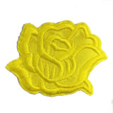 New Design Fashion Embroidery Patch 3D Golden Flower