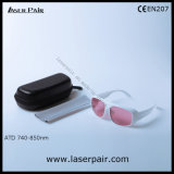 808nm Laser Safety Glasses for Diode Lasers with White Frame 52