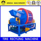 Waste Tire Rubber Crusher Shredder Machine