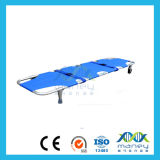 Floding Aluminum Alloy Stretcher with Wheels
