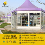 Aluminum Frame Hexagon Display Tent