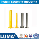 Traffic Barrier Painting Coated Steel Bollard with Reflective Tape