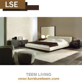 Modern Home Furniture Bedroom Wooden Fabric Leather Beds