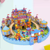 Forest Theme Playground Castle Playground Equipment Indoor Large