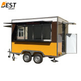 3X2.1m Mobile Street Snack Food Vending Cart for Europe