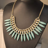 The New Women′s Fashion Bohemian Crystal Pendant Necklace