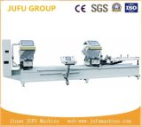 UPVC PVC Window Profile Double Head CNC Cutting Machine