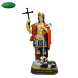 San Vito Martire with Dog Religious Carvings Statues for Sale