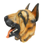 Bull Dog Mask Latex Full Head Overhead Animal Cospaly Masquerade Fancy Dress up Carnival