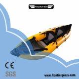 3.6m New Fishing PVC Material Canoe Inflatable Kayak