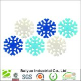 2017 New Fashion Snow Flake Felt Garland Made in China