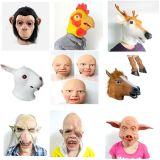 Eco-Friendly Natural Latex Horse Mask Full Head Animal Mask