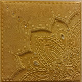 3D PU Leather Wall Panel for Decoration (HS-MK023)